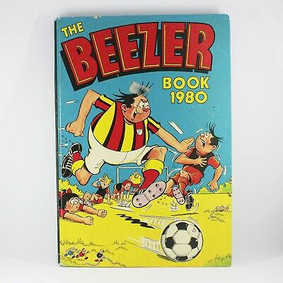 Beezer 1980 Book - Vintage Good Condition