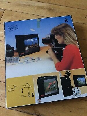 Hama 3012 Vintage Video Transfer Screen Telescreen 20cm X 20cm Boxed Never Used