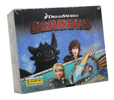 Panini - Dragons Trading Cards Serie 4 (2018) - 1 Display (24 Booster)