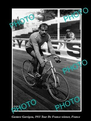 Old Large Historic Cycling Photo, 1911 Tour De France Winner Gustave Garrigou 3