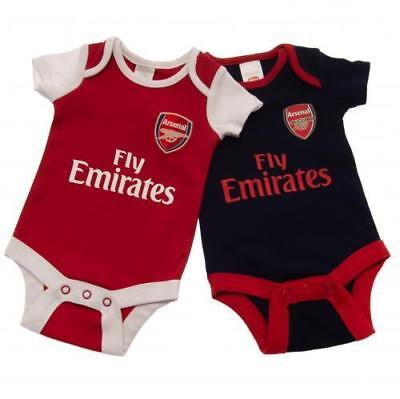 CHELSEA FC BABY 2 Pack Bodysuit Baby Vests Football Kit 12 18 mths ... 3a3cc9f66