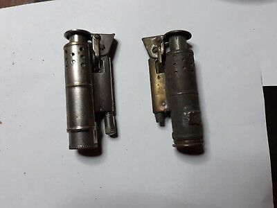 lot de 2 briquet tempete ancien feudor