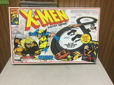 Tyco marvel comics X-Men Electric Racing Set SEALED from 1994 RARE