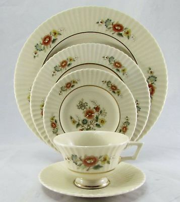 Lenox Temple Blossom 5 Piece Place Setting (s)  Mint Condition