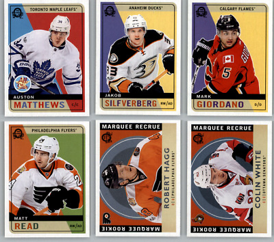 2017-18 O-Pee-Chee Hockey - Retro Parallel /Update Cards - Choose Card #'s 1-650