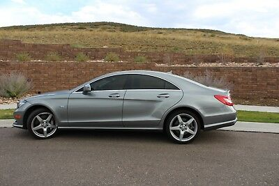 2012 Mercedes-Benz CLS-Class CLS550 4matic Mercedes Benz CLS550 4matic 4door Coupe