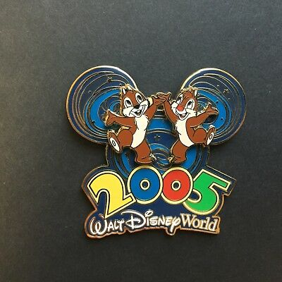 WDW 2005 Collection Chip n Dale Disney Pin 33958