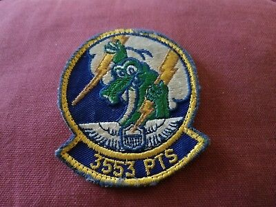 Vintage Military Patch 3553 Pts Arefs Air Refueling Squadron