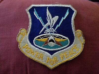 VINTAGE MILITARY PATCH 385th SAW STRATEGIC AIR AREFS AIR REFUELING SQUADRON