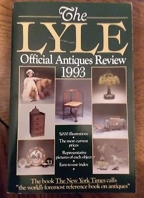 The Lyle Official Antiques Review 1993 Paperback england UK