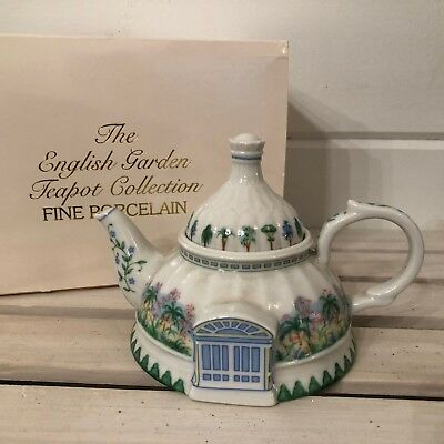 Lenox The English Garden Tea Pot Collection Rare New In Box Fine Porcelain