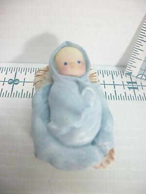 Vintage Avon 1986 Heavenly Blessings Nativity Baby Jesus In Manger Replacement