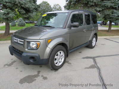 2007 Honda Element 4WD 4dr Automatic EX 4WD 4dr Automatic EX SUV Automatic Gasoline 4 Cyl Galaxy Gray Metallic