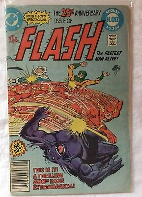The Flash #300 (Aug 1981, DC) 25th Anniversary issue G