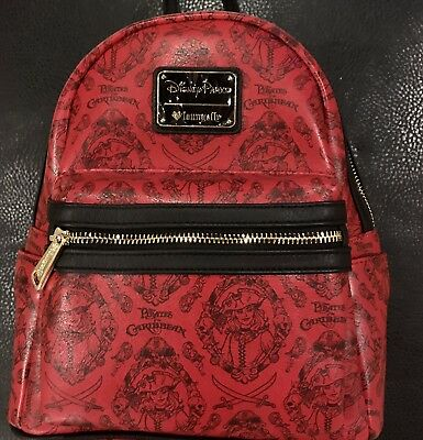Disney Parks Loungefly Pirates of the Caribbean Redd Mini Backpack NWT