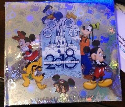 Disney Parks WDW 2018 Autographs and Photos Book with Ball Point Pen - NEW Lot 3