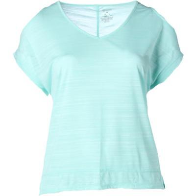 The Balance Collection Womens Green Yoga T-Shirt Athletic Plus 3X BHFO 3950