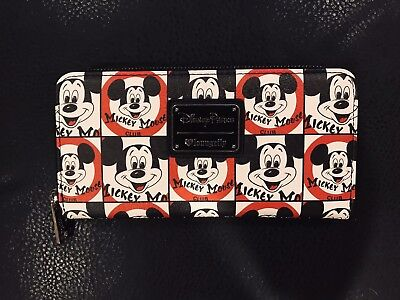 Disney Parks Loungefly Mickey Mouse Club Wallet NWT