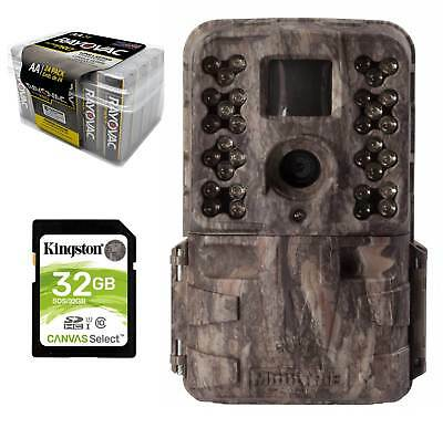 16MP Moultrie Trail Camera M40i Kit Game Cam +SD Card + Battery 24PK