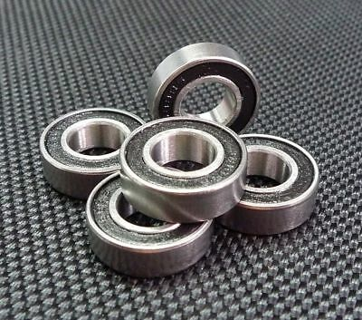 (10 PCS) S628-2RS (8x24x8 mm) 440c Stainless Steel Rubber Sealed Ball Bearings