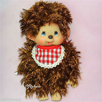 Japan Sekiguchi Monchhichi Mokomoko Stuffed Plush Doll MCC S Size Boy
