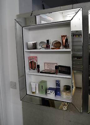 Mirror framed makeup  glamorous cabinet  IN STOCK