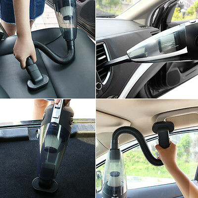 UK 120W High Power USB Rechargeable Cordless Wet&Dry Car Home Vacuum Cleaner