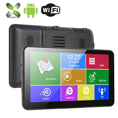XGODY 7'' GPS Navigation 16GB Touchscreen Android 4.4 system Free Real Time Navi