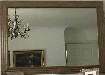 Antique Gold Coloured Very Large Wall Mirror - Fireplace Hall Bedroom