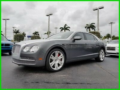 2017 Bentley Flying Spur W12 2017 W12 Used Turbo 6L W12 48V Automatic AWD Moonroof Premium