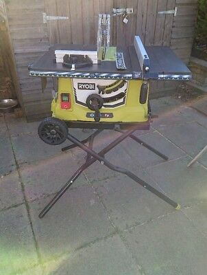 Ryobi RTS1800EF Table Saw with Extendable Table 254mm Blade 1800w 240v