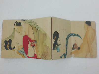Japanese Old Paper Printing Painting Ancient Wedding Dowry Collect Book Art