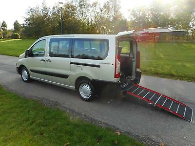 2011 Peugeot Expert Tepee 1.6 Hdi L2 LWB 7 SEATS Wheelchair Accessible Vehicle