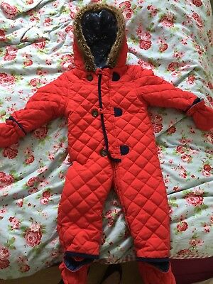 9-12 Months Baby Boys Mini Club at Boots Coat All In One Pram Suit