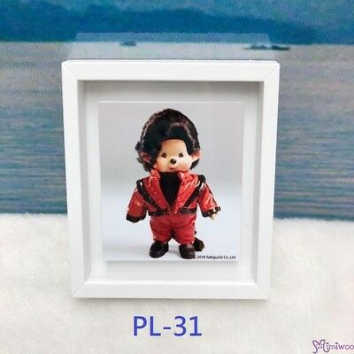 Monchhichi 6 x 5.2cm Magnet Photo Frame with Photo PL31 ~~~ NEW ARRIVAL ~~~