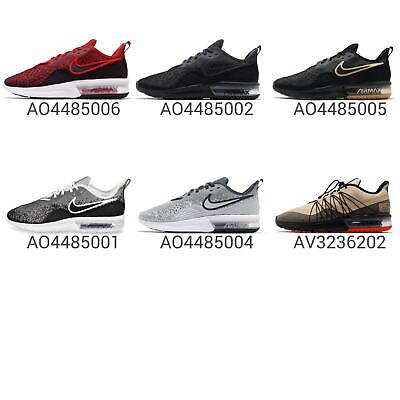 NIKE AIR MAX Sequent 4 IV Men Running Shoes Sneakers