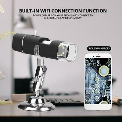 Digital Microscope Magnifier Wireless WiFi 1000X 2MP HD USB for iPhone/Android