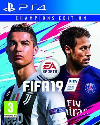 Fifa 19 Champions Edition Sony Ps4 New Sealed Pal Uk English Playstation 4 Shop