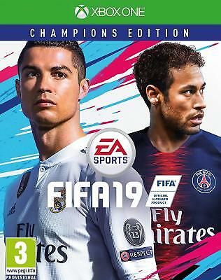 Fifa 19 Champions Edition Xbox One New Sealed Pal Uk English Xone Shop