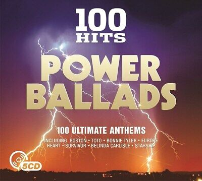 100 Hits: Power Ballads - Various Artists (Box Set) [CD]