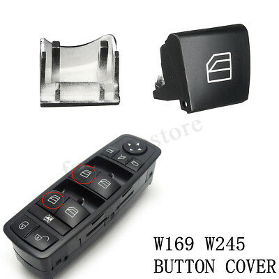LEFT Button Cap Cover For Mercedes A B Class W245 W169 Window Switch Driver Side