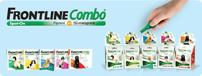 Frontline COMBO for Dogs & Cats - Flea and Ticks Treatment 3 pipettes