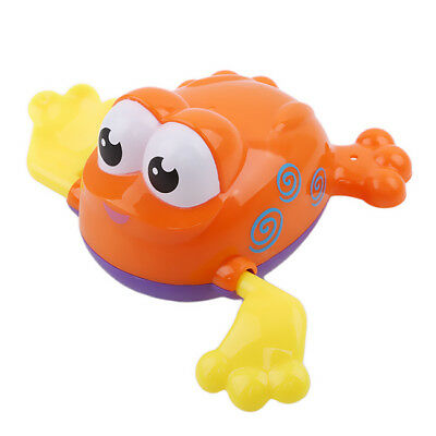 Wind-up Swimming Pool Bath Time Animal Clockwork Floating Kids Baby Toy 6A