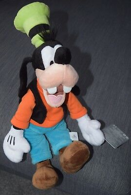 """Disney Official 12"""" Goofy Soft Plush Toy **NEW WITH TAGS**"""
