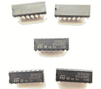 SG3525A ST   Voltage Mode PWM Controller 400ma DIP-16 SG3525AN  x5pcs