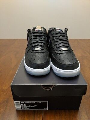 68f74f91ed4f NIKE NEW ENGLAND Patriots Robert Kraft Nike Lunar Force 1 Ltd Ed ...