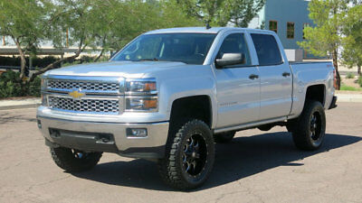 2014 Chevrolet Silverado 1500 LIFTED LT CREW CAB 4X4 NEW TIRES EXTRA  CLEAN ***2014 CHEVY LT CREWCAB 4X4 LIFTED NEW TIRES AND WHEELS 1 OWNER EXTAR CLEAN***