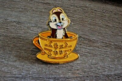 Disney Pin Chip Tea Cup Magic Access Exclusive 2017 HKDL Free Shipping