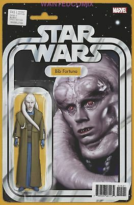 Star Wars #45 Christopher Action Figure Variant Cover Bib Fortuna New 1 Comic Nm