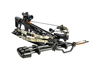 New 2019 BearX Package Saga 370 Crossbow Scope Package Camo Model# AC93A2A7175